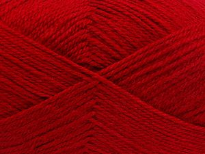 Vezelgehalte 100% Acryl, Red, Brand Ice Yarns, fnt2-66052