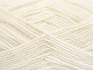 Fiber Content 60% Merino Wool, 40% Acrylic, White, Brand Ice Yarns, fnt2-66073