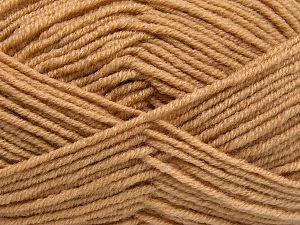Fiber Content 60% Merino Wool, 40% Acrylic, Brand Ice Yarns, Dark Cream, fnt2-66077