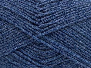 Fiber Content 60% Merino Wool, 40% Acrylic, Brand Ice Yarns, Blue, fnt2-66081