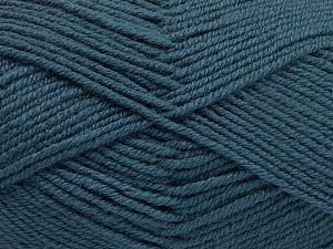 Fiber Content 60% Merino Wool, 40% Acrylic, Indigo Blue, Brand Ice Yarns, fnt2-66082