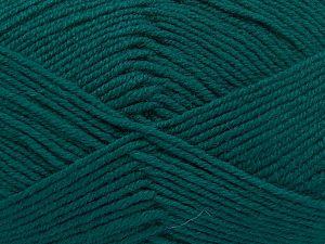 Fiber Content 60% Merino Wool, 40% Acrylic, Brand Ice Yarns, Emerald Green, fnt2-66083