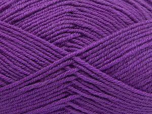 İçerik 60% Merino Yün, 40% Akrilik, Lilac, Brand Ice Yarns, fnt2-66085