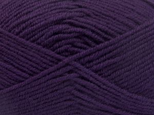 İçerik 60% Merino Yün, 40% Akrilik, Purple, Brand Ice Yarns, fnt2-66086