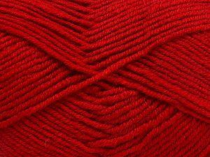 İçerik 60% Merino Yün, 40% Akrilik, Red, Brand Ice Yarns, fnt2-66087