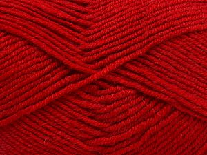 Fiber Content 60% Merino Wool, 40% Acrylic, Red, Brand Ice Yarns, fnt2-66087