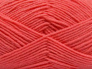 İçerik 60% Merino Yün, 40% Akrilik, Salmon, Brand Ice Yarns, fnt2-66089