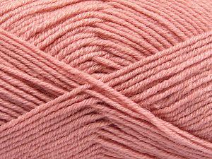 Fiber Content 60% Merino Wool, 40% Acrylic, Powder Pink, Brand Ice Yarns, fnt2-66091