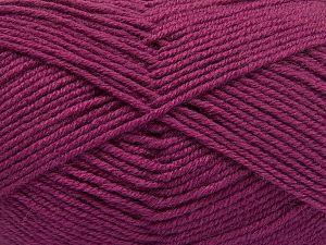 Fiber Content 60% Merino Wool, 40% Acrylic, Brand Ice Yarns, Dark Orchid, fnt2-66093
