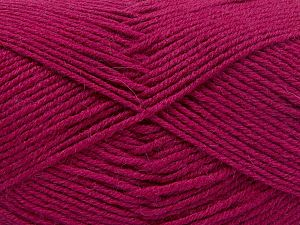 Fiber Content 60% Merino Wool, 40% Acrylic, Brand Ice Yarns, Dark Fuchsia, fnt2-66094