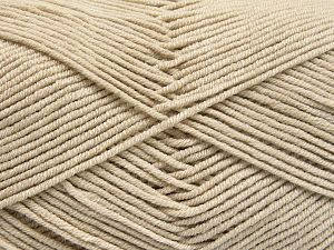 Fiber Content 50% Cotton, 50% Acrylic, Light Beige, Brand Ice Yarns, fnt2-66100