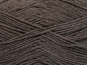 Fiber Content 50% Cotton, 50% Acrylic, Brand Ice Yarns, Dark Camel, fnt2-66102