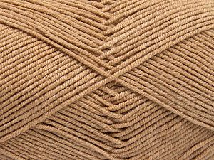 Fiber Content 50% Cotton, 50% Acrylic, Light Camel, Brand Ice Yarns, fnt2-66103