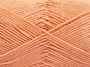 Fiber Content 50% Acrylic, 50% Cotton, Light Salmon, Brand Ice Yarns, fnt2-66105