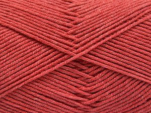 Fiber Content 50% Cotton, 50% Acrylic, Salmon, Brand Ice Yarns, fnt2-66108