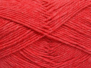 Fiber Content 50% Acrylic, 50% Cotton, Light Salmon, Brand Ice Yarns, fnt2-66109
