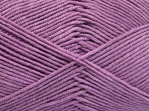 Fiber Content 50% Acrylic, 50% Cotton, Lilac, Brand Ice Yarns, fnt2-66114