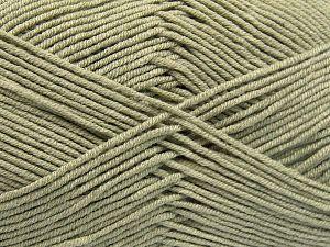 Vezelgehalte 50% Katoen, 50% Acryl, Water Green, Brand Ice Yarns, fnt2-66117