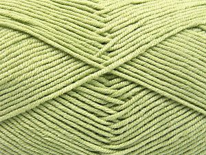 İçerik 50% Pamuk, 50% Akrilik, Light Green, Brand Ice Yarns, fnt2-66118