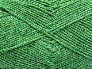 Vezelgehalte 50% Katoen, 50% Acryl, Brand Ice Yarns, Green, fnt2-66119
