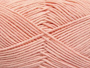 Fiber Content 50% Cotton, 50% Acrylic, Light Pink, Brand Ice Yarns, fnt2-66120