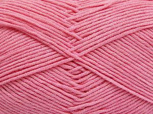 Fiber Content 50% Cotton, 50% Acrylic, Brand Ice Yarns, Baby Pink, fnt2-66121