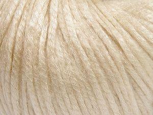 Fiber Content 67% Tencel, 33% Polyamide, Brand Ice Yarns, Dark Cream, fnt2-66190