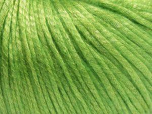 Fiber Content 67% Tencel, 33% Polyamide, Light Green, Brand Ice Yarns, fnt2-66198
