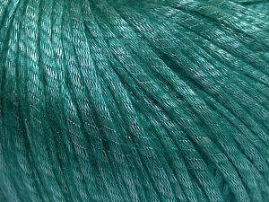 İçerik 67% Tencel, 33% Polyamid, Brand Ice Yarns, Emerald Green, fnt2-66201