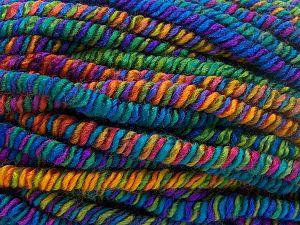 İçerik 95% Akrilik, 4% Polyester, 1% Elastan, Rainbow, Brand Ice Yarns, Yarn Thickness 6 SuperBulky  Bulky, Roving, fnt2-66245
