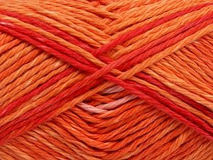 Colors in different lots may vary because of the charateristics of the yarn. Also see the package photos for the colorway in full; as skein photos may not show all colors. Fiber Content 100% Cotton, Red, Light Pink, Brand Ice Yarns, Gold, fnt2-66253