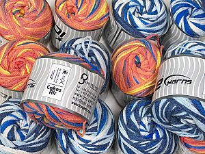 Cakes Air This mixed lot includes a total of 2000 gr (70.5 oz.) yarn. There is no standard for ball weight. Also disregard any information on the labels. You will get what you see in the photo. Fiber Content 50% Polyamide, 50% Acrylic, Brand Ice Yarns, fnt2-66419