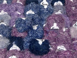 Techno Star This mixed lot includes a total of 2000 gr (70.5 oz.) yarn. There is no standard for ball weight. Also disregard any information on the labels. You will get what you see in the photo. Fiber Content 100% Polyamide, Brand Ice Yarns, fnt2-66482