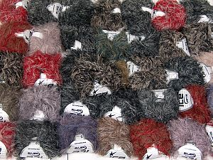 Techno Star This mixed lot includes a total of 2000 gr (70.5 oz.) yarn. There is no standard for ball weight. Also disregard any information on the labels. You will get what you see in the photo. Fiber Content 100% Polyamide, Brand Ice Yarns, fnt2-66484