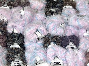 Techno Types This mixed lot includes a total of 2000 gr (70.5 oz.) yarn. There is no standard for ball weight. Also disregard any information on the labels. You will get what you see in the photo. Fiber Content 100% Polyamide, Brand Ice Yarns, fnt2-66493