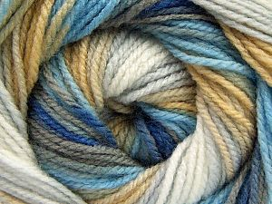 Fiber Content 100% Baby Acrylic, White, Brand Ice Yarns, Grey, Brown, Blue Shades, fnt2-66542