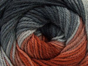 Fiber Content 100% Acrylic, Brand Ice Yarns, Grey Shades, Copper Shades, fnt2-66544