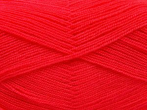 Very thin yarn. It is spinned as two threads. So you will knit as two threads. Yardage information is for only one strand. Fiber Content 100% Acrylic, Brand Ice Yarns, Dark Salmon, fnt2-66556