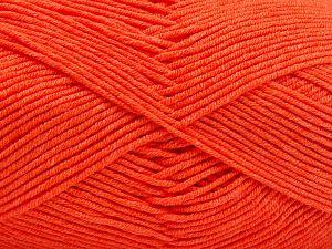 Vezelgehalte 50% Acryl, 50% Katoen, Neon Orange, Brand Ice Yarns, Yarn Thickness 2 Fine  Sport, Baby, fnt2-66562