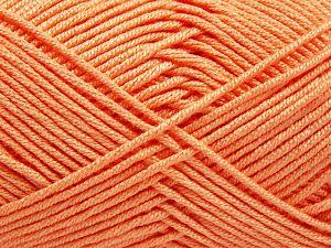 Fiber Content 50% Acrylic, 50% Bamboo, Light Salmon, Brand Ice Yarns, fnt2-66601