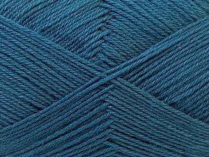 Fiber Content 60% Merino Wool, 40% Acrylic, Slate Grey, Brand ICE, Yarn Thickness 2 Fine  Sport, Baby, fnt2-21101