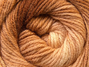 Fiber Content 100% Acrylic, Brand ICE, Brown Shades, Yarn Thickness 3 Light  DK, Light, Worsted, fnt2-22015