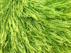 Fiber Content 100% Polyester, Brand ICE, Green, Yarn Thickness 5 Bulky  Chunky, Craft, Rug, fnt2-22786