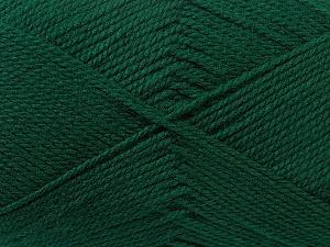 Fiber Content 100% Acrylic, Brand ICE, Dark Green, Yarn Thickness 2 Fine  Sport, Baby, fnt2-23586