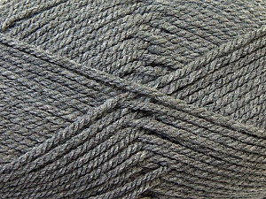 Bulky  Fiber Content 100% Acrylic, Brand ICE, Grey, Yarn Thickness 5 Bulky  Chunky, Craft, Rug, fnt2-23747
