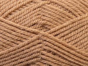Bulky  Fiber Content 100% Acrylic, Brand ICE, Camel, Yarn Thickness 5 Bulky  Chunky, Craft, Rug, fnt2-23748