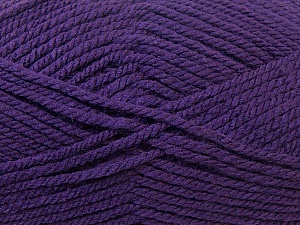 Bulky  Fiber Content 100% Acrylic, Purple, Brand ICE, Yarn Thickness 5 Bulky  Chunky, Craft, Rug, fnt2-23755