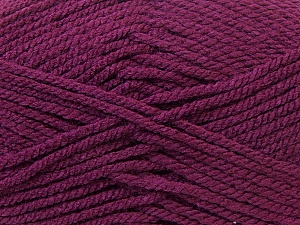 Bulky  Fiber Content 100% Acrylic, Maroon, Brand ICE, Yarn Thickness 5 Bulky  Chunky, Craft, Rug, fnt2-23756