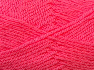 Bulky  Fiber Content 100% Acrylic, Pink, Brand ICE, Yarn Thickness 5 Bulky  Chunky, Craft, Rug, fnt2-23757