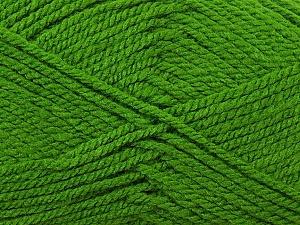 Bulky  Fiber Content 100% Acrylic, Brand ICE, Green, Yarn Thickness 5 Bulky  Chunky, Craft, Rug, fnt2-23760